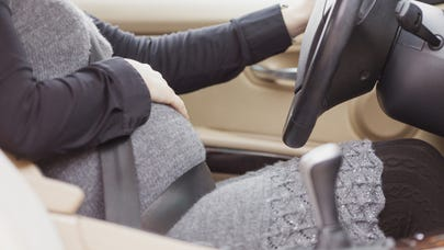 Pregnancy and the road: Staying comfortable and safe in the car