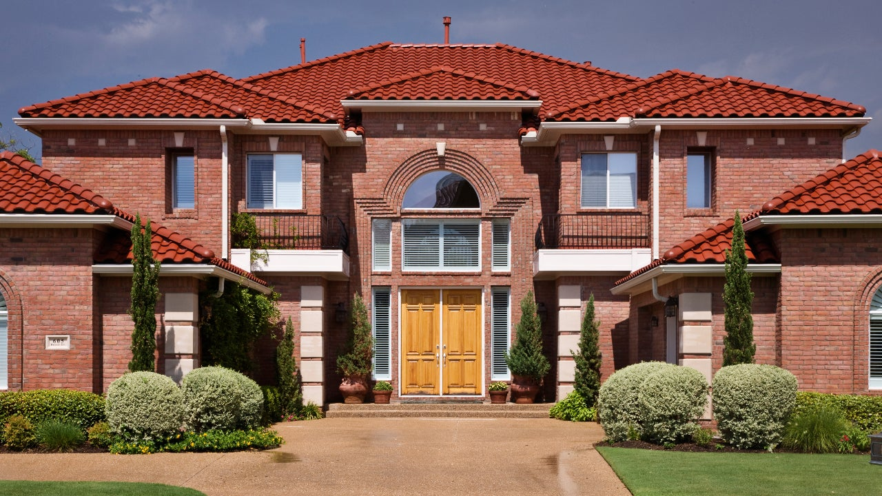 Tuscan-style home in McKinney, Texas