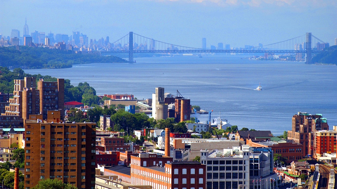Yonkers New York Downtown skyline