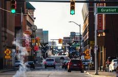 Streets of Detroit, Michigan