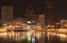 Night scene at Rochester