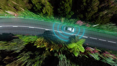 How do self-driving cars work?