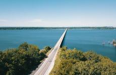 Aerial One Mile Bridge