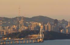 San Francisco skyline from Berkeley hills