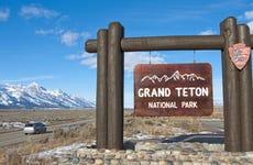 Southern Entrance to Grand Teton National Park