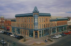 Old Town Square Street Corner in Fort Collins