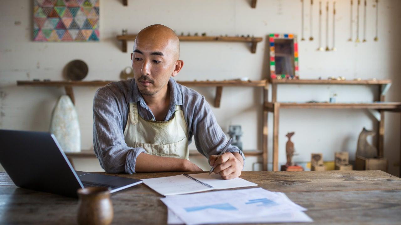 Man financial planning