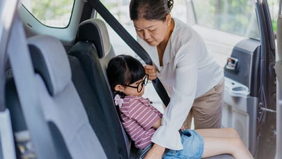 Caring for grandkids and keeping them safe on the road