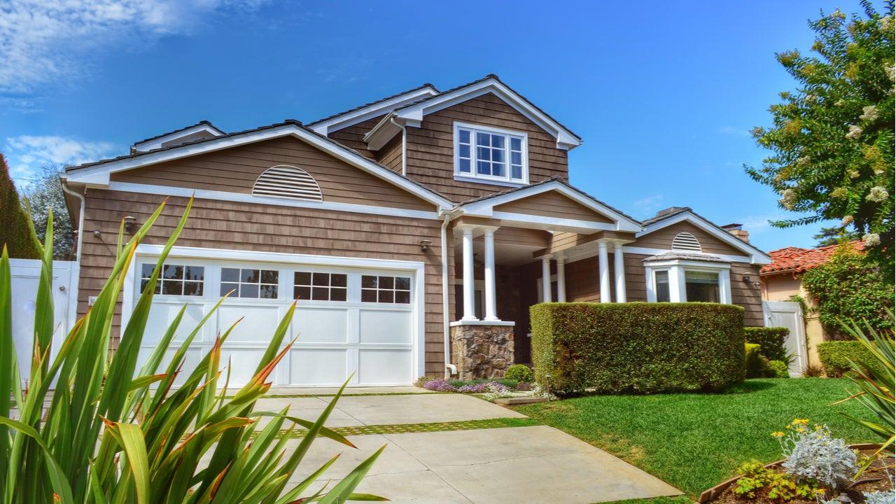 A single-family home in Santa Monica, California