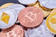 A picture of Bitcoin and other cryptocurrencies