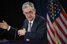 Federal Reserve Bank Chairman Jerome Powell speaks at a press conference in Washington