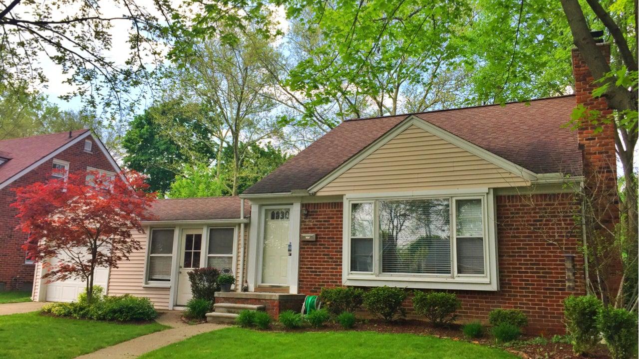 A single-family home in suburban Michigan