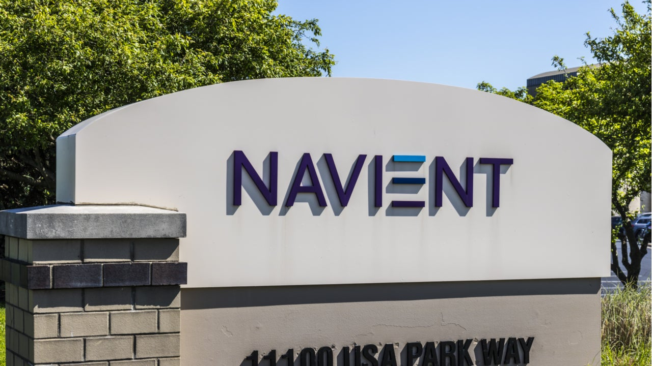 Navient sign outside headquarters