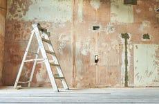 Still life of a domestic renovation project