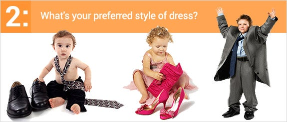 What's your preferred style of dress?