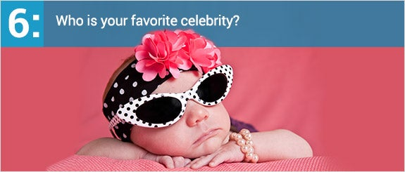 Who is your favorite celebrity?