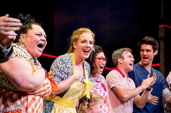 Walk-on role in the Broadway musical 'Waitress' | Roy Rochlin/Getty Images
