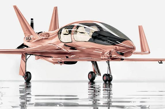 Cobalt Valkyrie-X private plane | Courtesy of Neiman Marcus