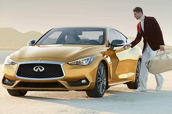 Limited-edition Infiniti Q60 | Courtesy of Neiman Marcus