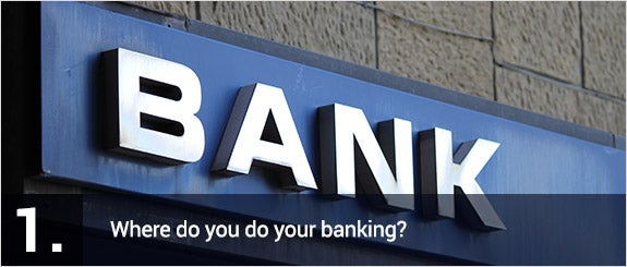 Where do you do your banking? © alessandro0770/Shutterstock.com