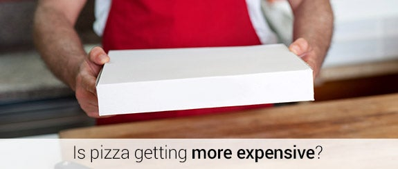 Is pizza getting more expensive? © stockyimages/Shutterstock.com