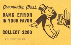 Bank Error In Your Favor
