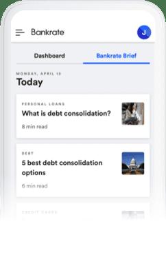 Bankrate Brief Screenshot